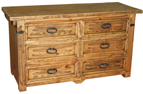 Lauro Horizontal Dresser 6 Drawers
