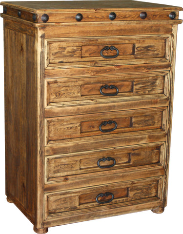Francis Vertical Dresser 5 Drawers
