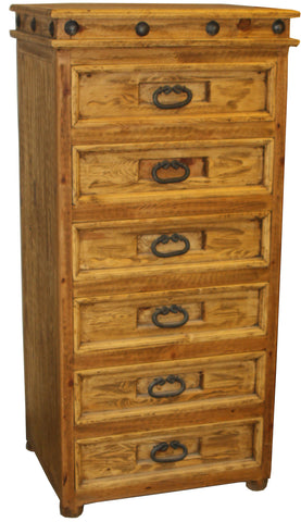 Francis Narrow Dresser 6 Drawers