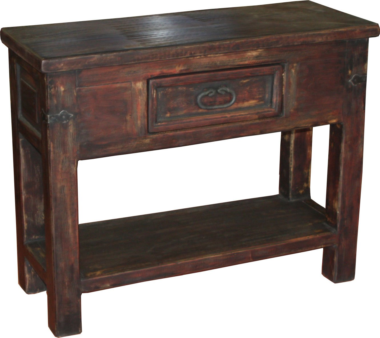 Antigua Console Table Red