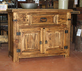 Antigua Console Table with Doors