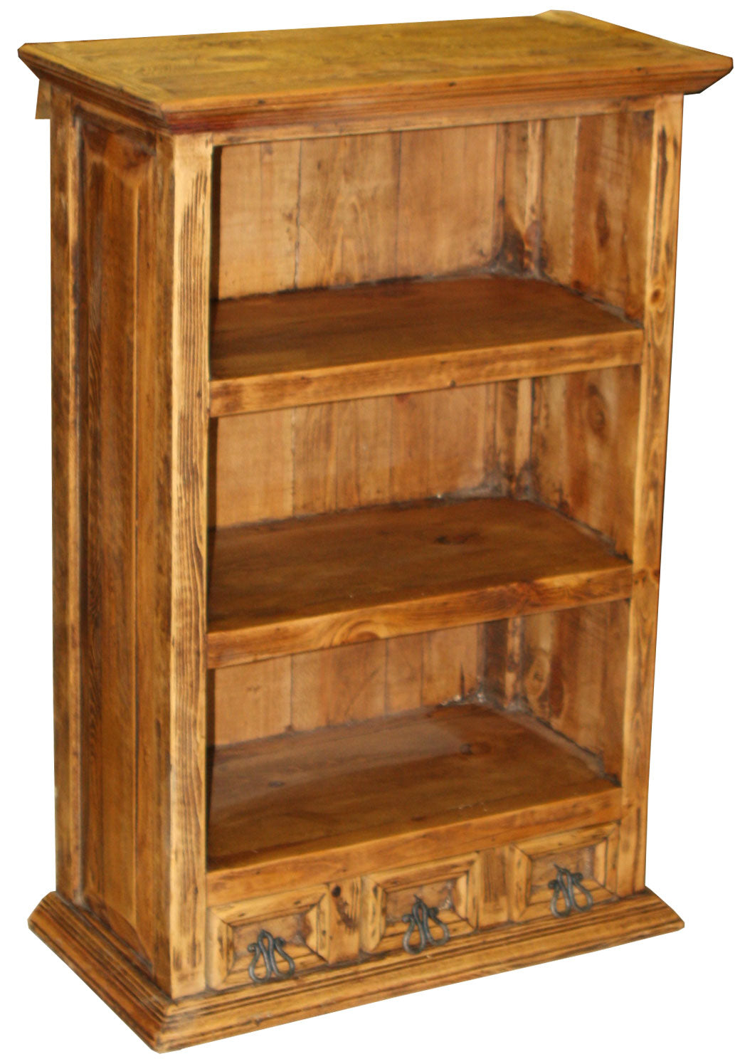 Grande Wall Shelf with 3 Drawers