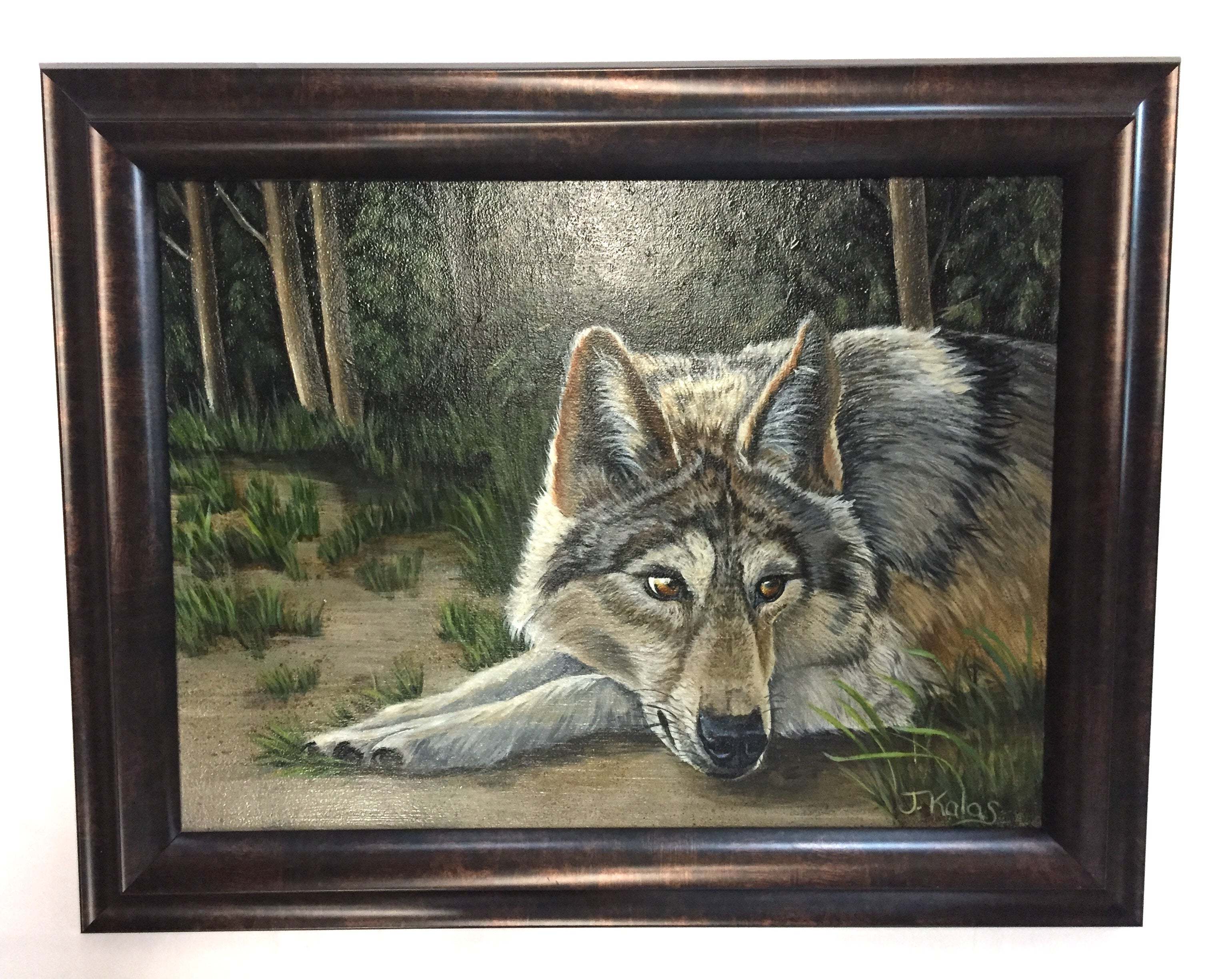 "Judy Kalas: ""Wolf at Rest"""