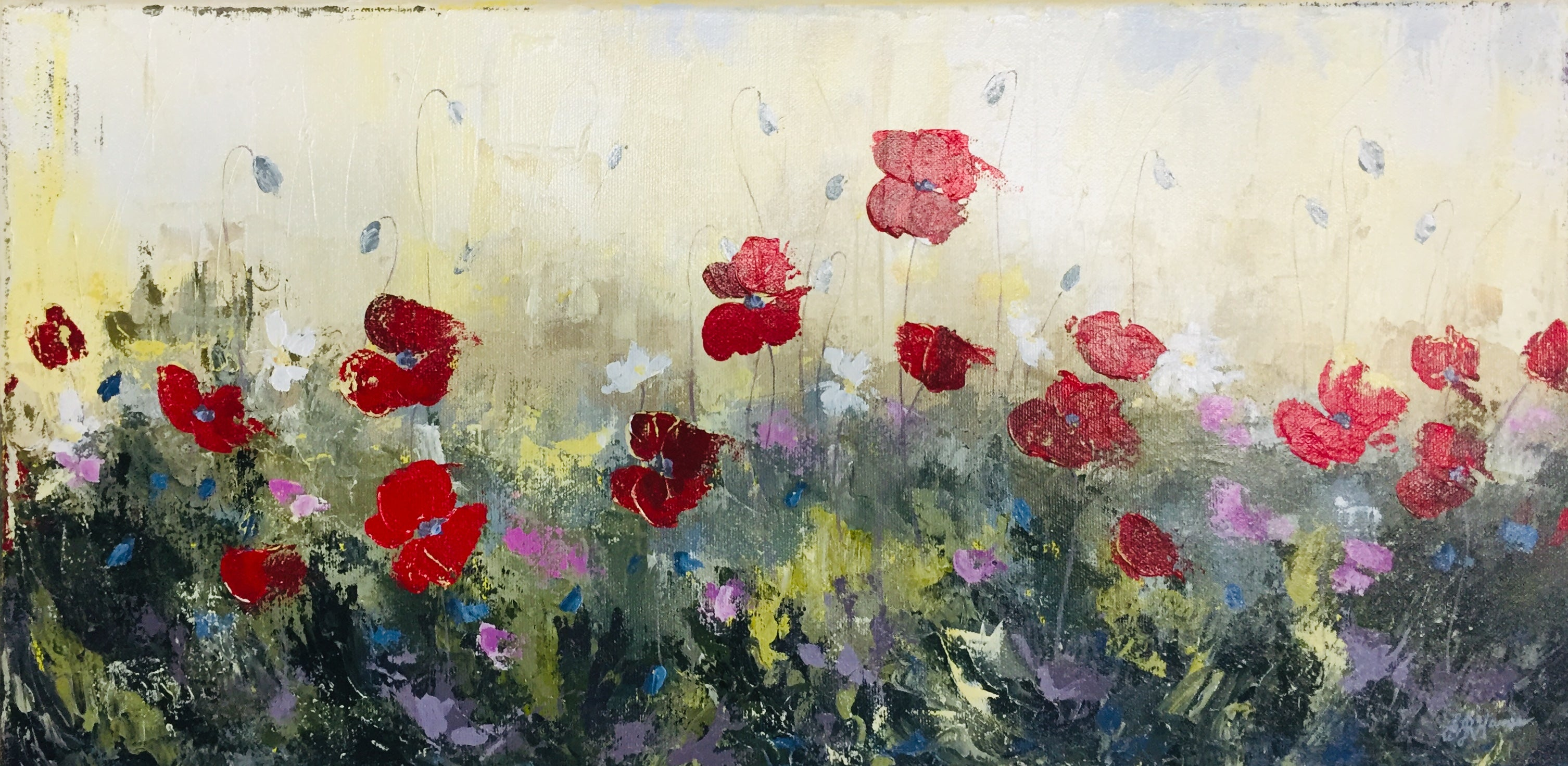 "Bethany Harris: ""Poppy Meadow"""
