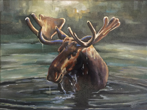 "Bethany Harris: ""Canadian Moose"""