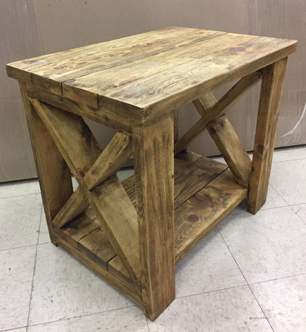 Las Cruces Side Table