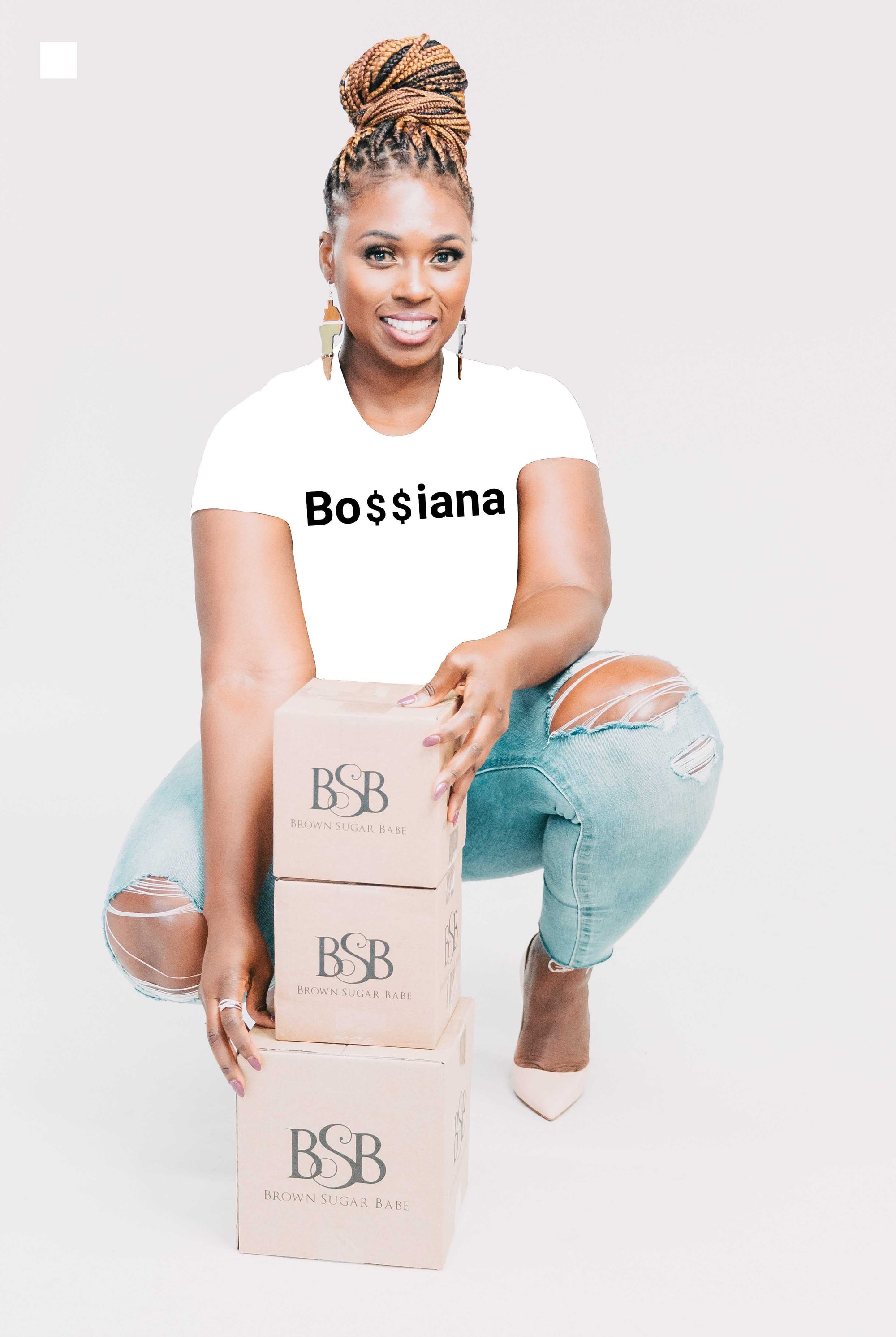 Bo$$iana - Short-Sleeve T-Shirt