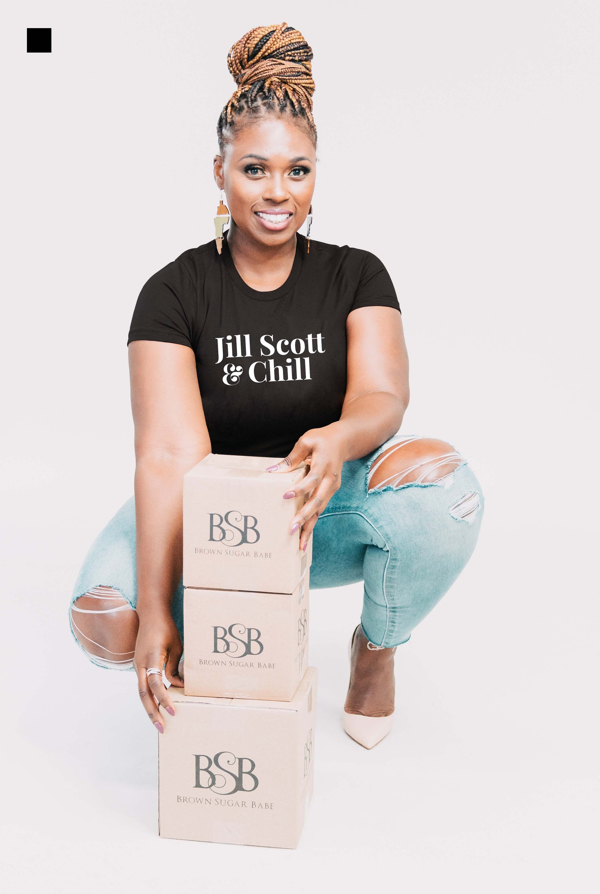 Jill Scott & Chill - Short-Sleeve T-Shirt