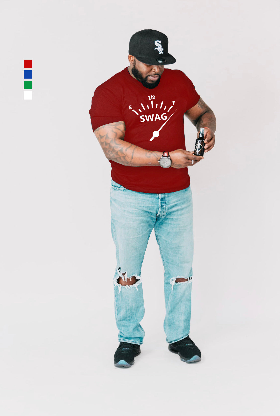 Full of  Swag - Short-Sleeve Men T-Shirt