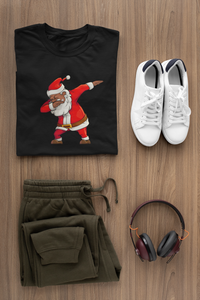 Dabbing Santa Women's short sleeve tee