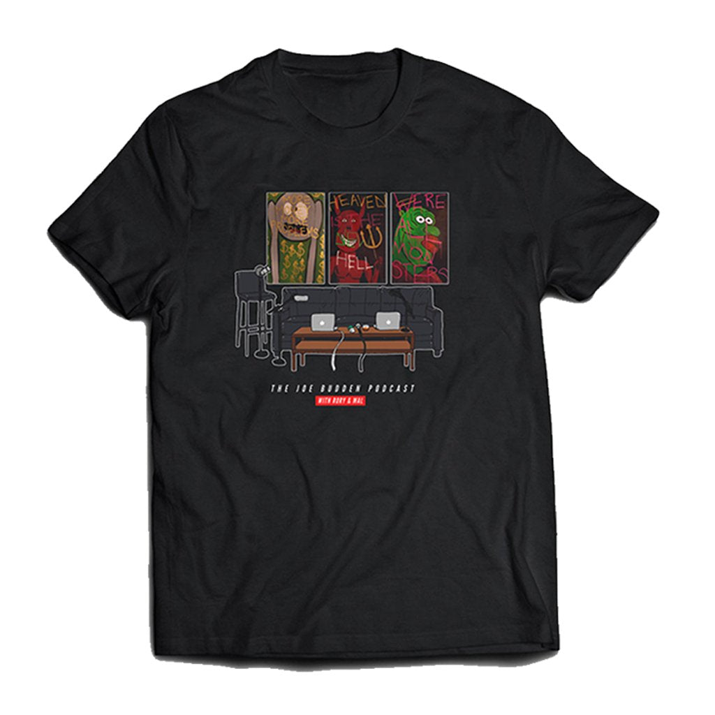 Friend Of The Show Set Tee - on Black
