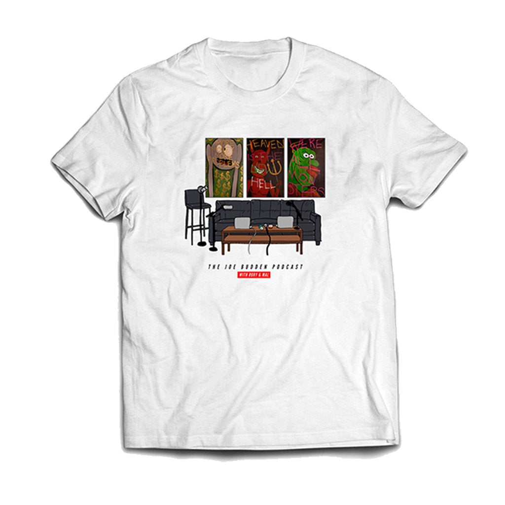 Friend Of The Show Set Tee - on White
