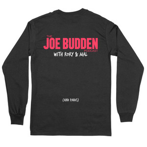 Live Podding - Black Long Sleeve Tee