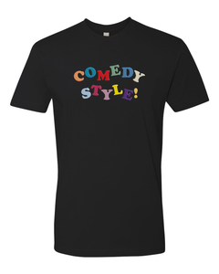 Comedy Style - Black Tee