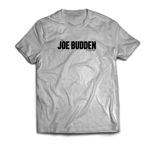 Joe Budden Podcast Logo T-Shirt on Grey