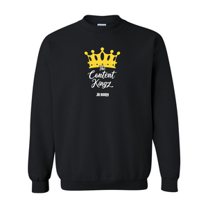The Content Kingz - Black Crewneck Sweatshirt