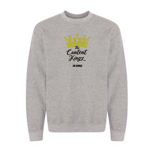 The Content Kingz - Grey Crewneck Sweatshirt