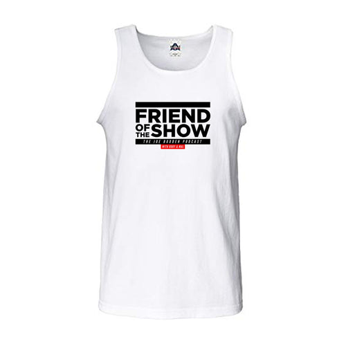 Friend of the Show Men's Tank - White
