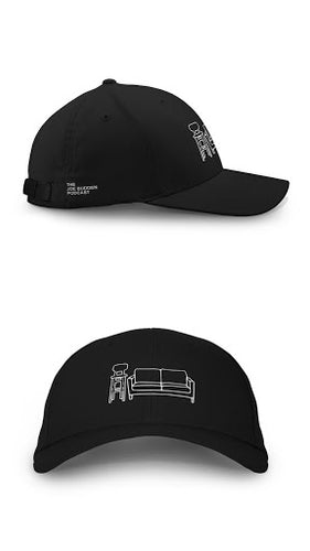 Couch & Stool - Black Snapback Hat