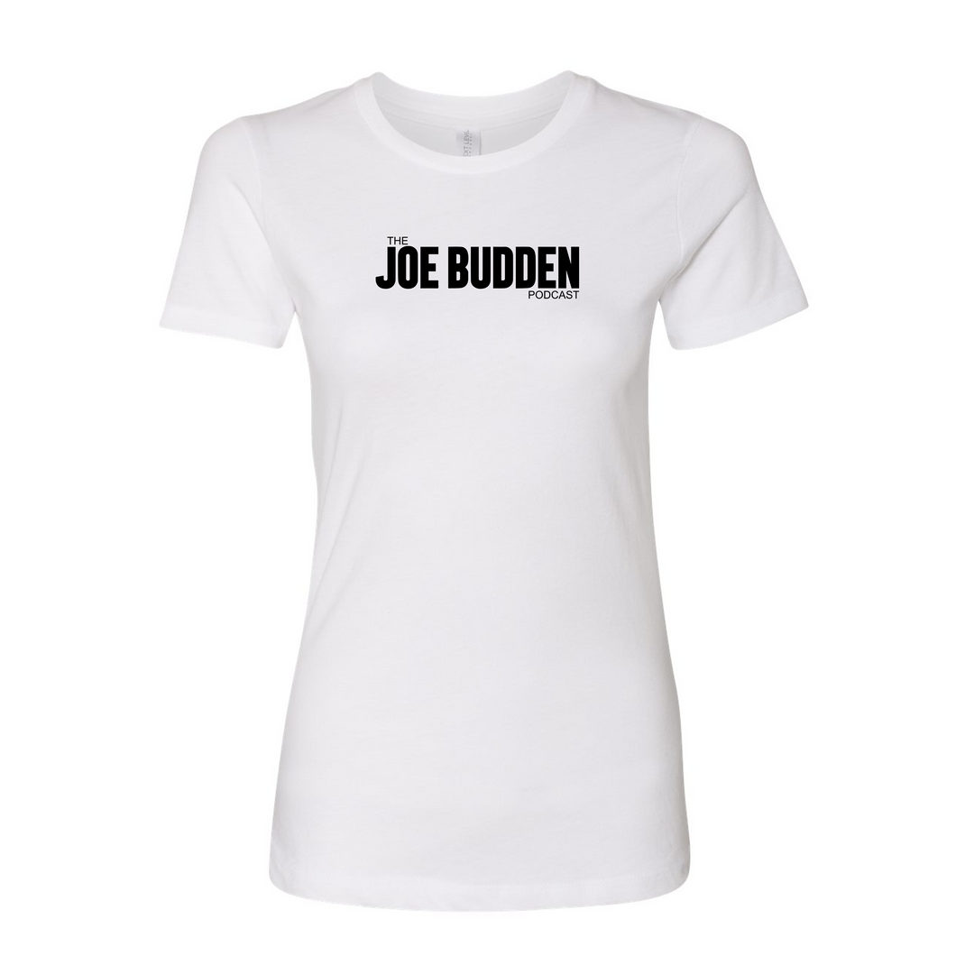 Joe Budden Podcast Logo - Women's T-Shirt on White