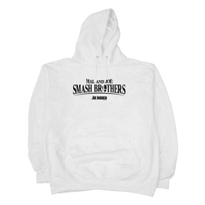 Mal & Joe - Smash Brothers - White Hoodie