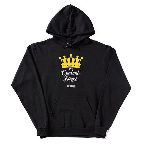 The Content Kingz - Black Hoodie