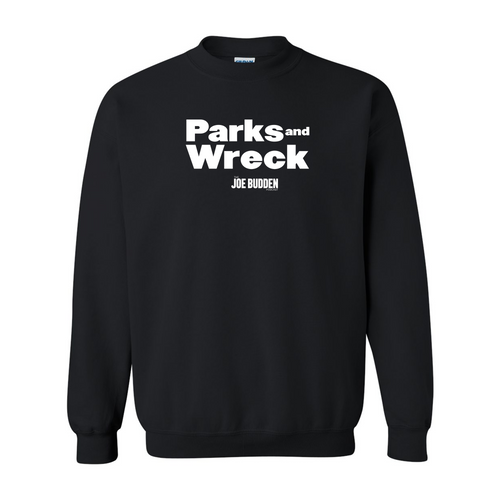 Parks and Wreck - Black Crewneck Sweatshirt