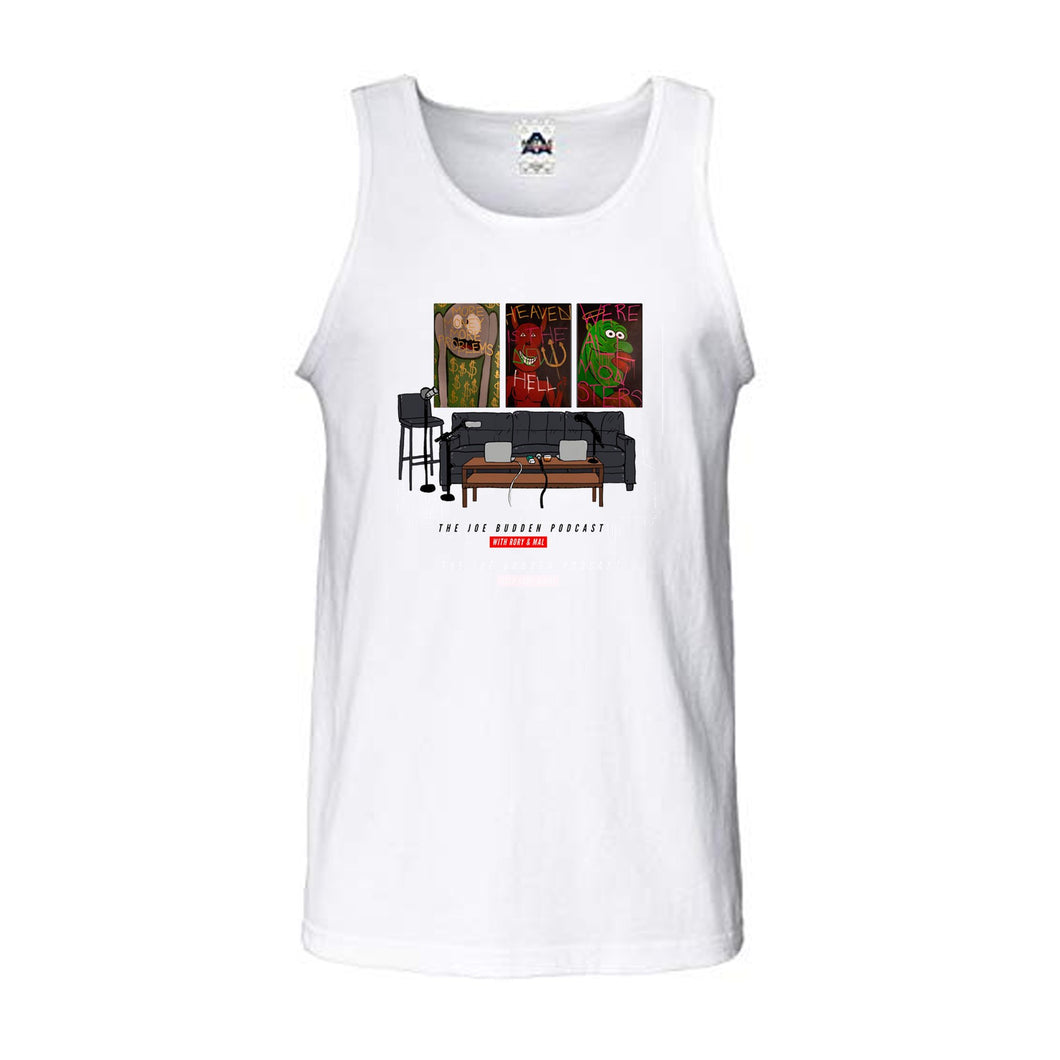 Friend of the Show Set Tee - Men's Tank - White