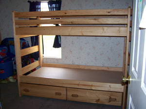 Twin over Twin with Storage Drawers or Trundle