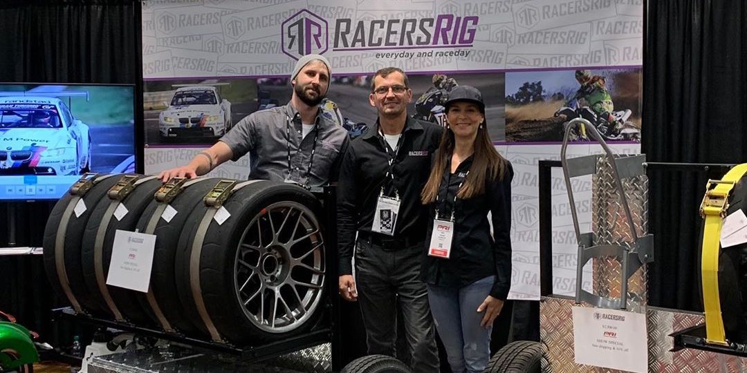 RacersRig founder standing with GT-Rig