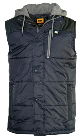 HOODED WORK VEST