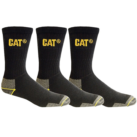 CAT WORKWEAR CREW SOCK 3PACK