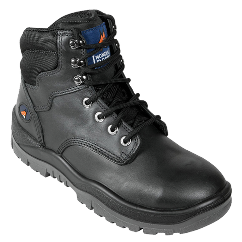 Black L/U Safety Boot