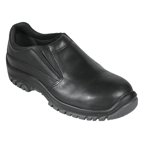 Black Slip On Safety Shoe