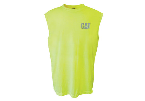 HI VIS SLEEVELESS TEE