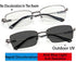 HD definition Intelligent color reading glasses
