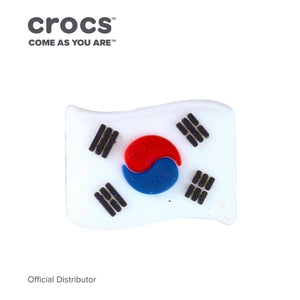 Crocs Jibbitz™ Charm South Korean Flag