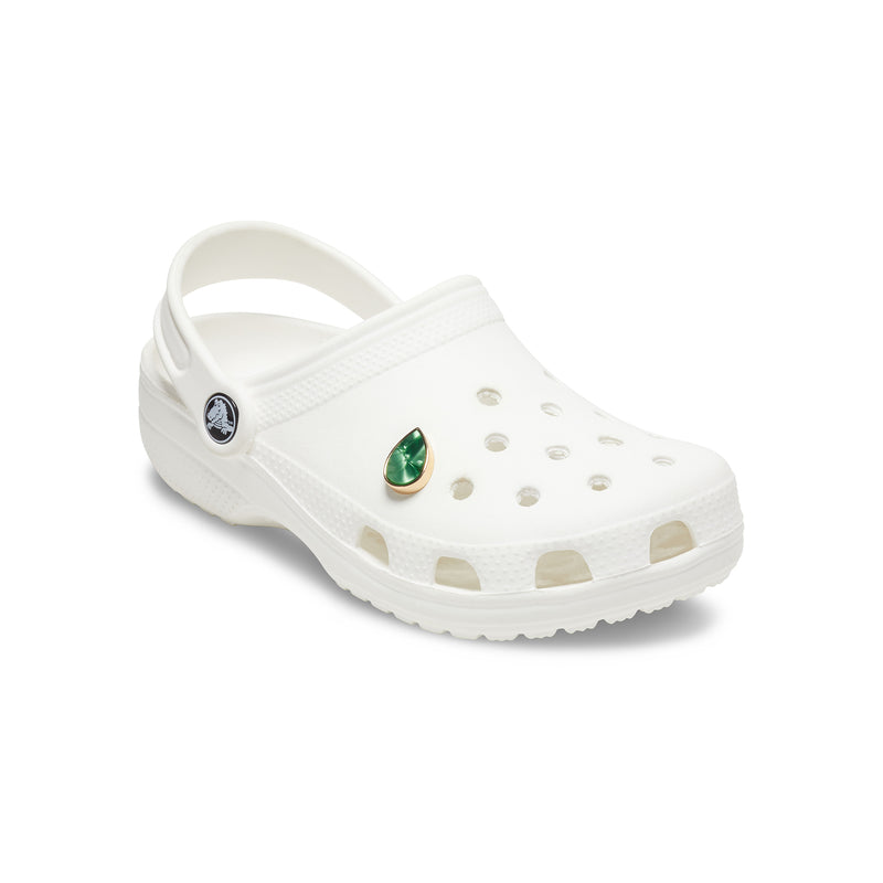 Crocs Jibbitz™ Green Marble Tear Drop