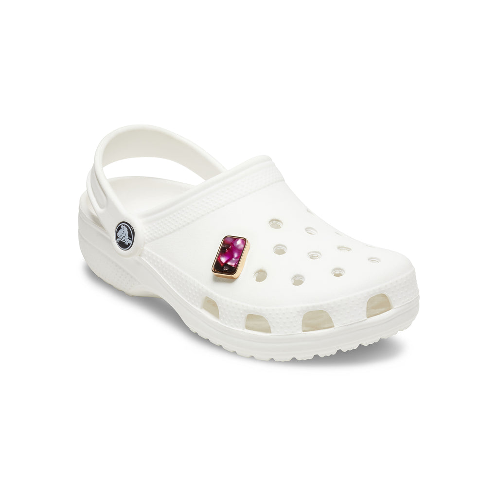 Crocs Jibbitz™ Pink Marble Rectangle