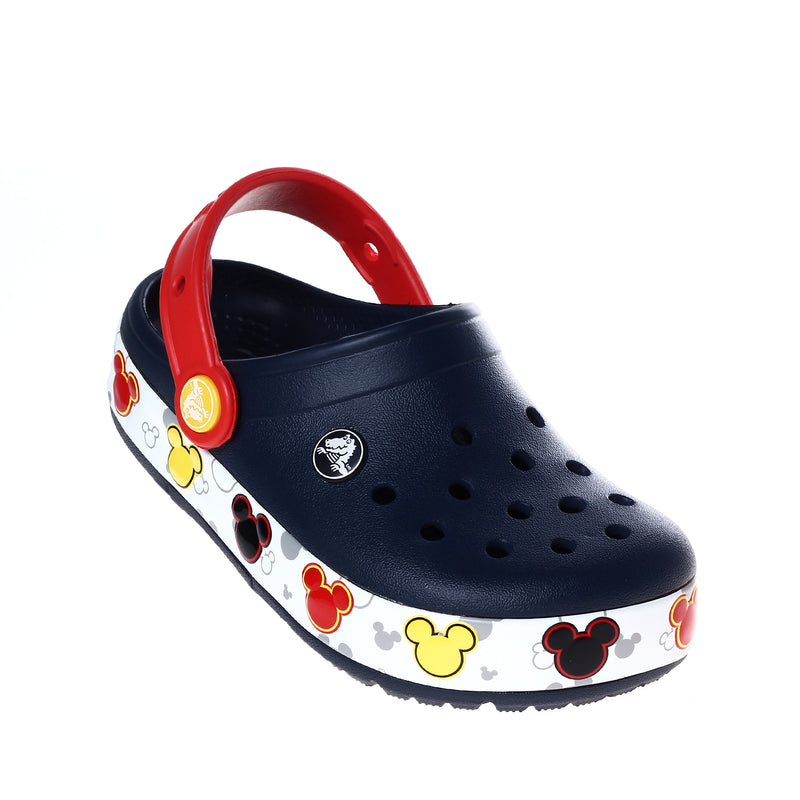 Crocs Kids' CB Fun Lab Mickey Lights Clogs