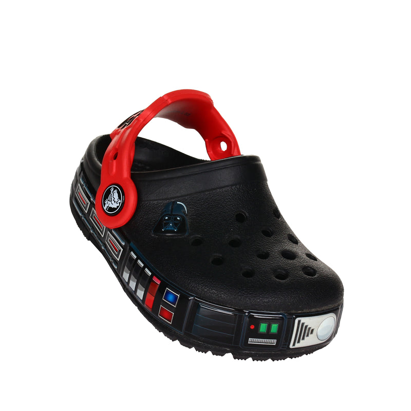 Crocs Boy's CB Fun Lab Darth Vader Lights Clog