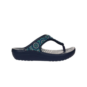 Crocs Women's Sloane Embellished - Beaded Flip