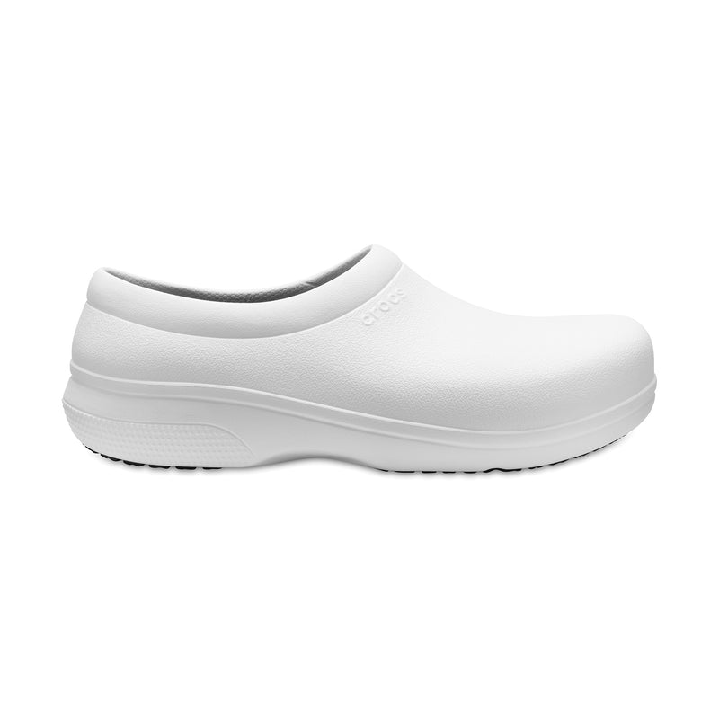 Crocs Unisex On The Clock Work Slip-On Shoe