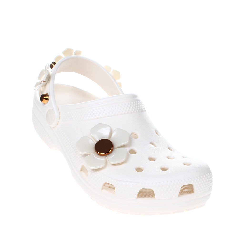 Crocs Classic Metallic Blooms Clog