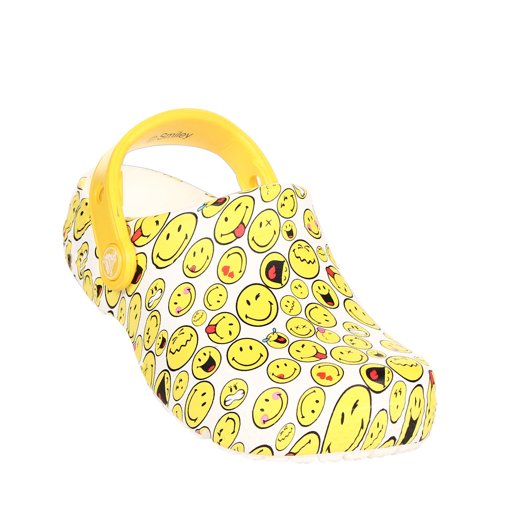 Crocs Kids' Fun Lab Smiley Clog
