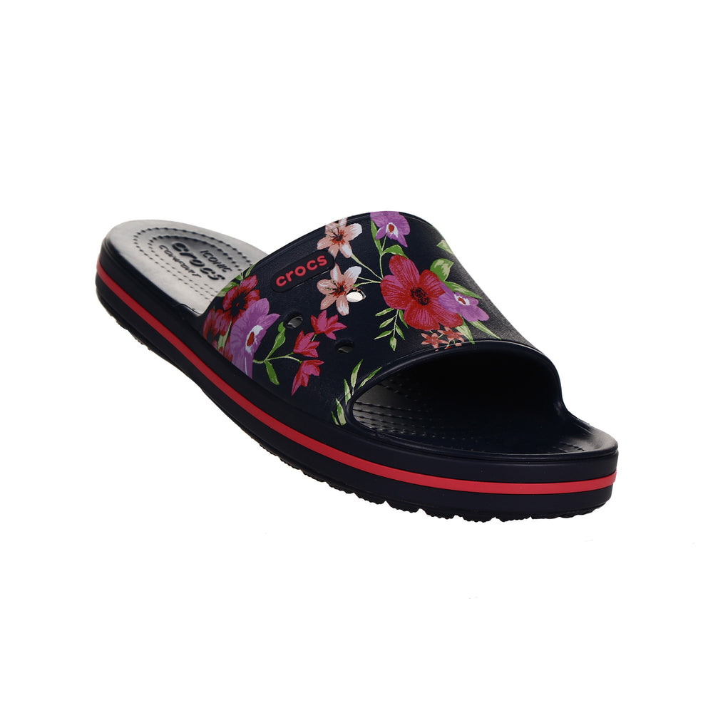 TROPICAL FLORAL NAVY