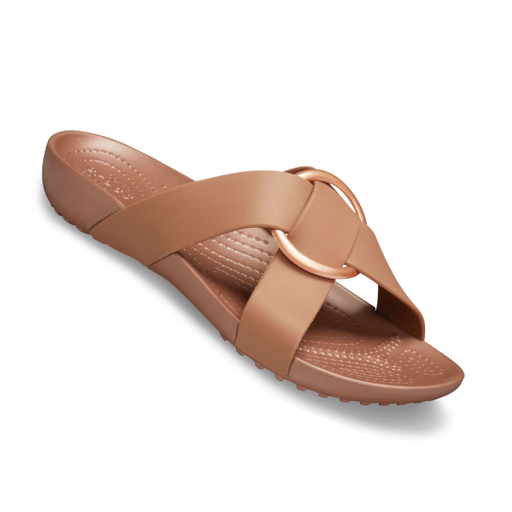 Crocs Women's Serena Cross Band Slide