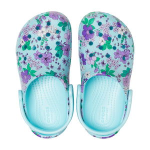 Crocs Girl's Floral PS Clog