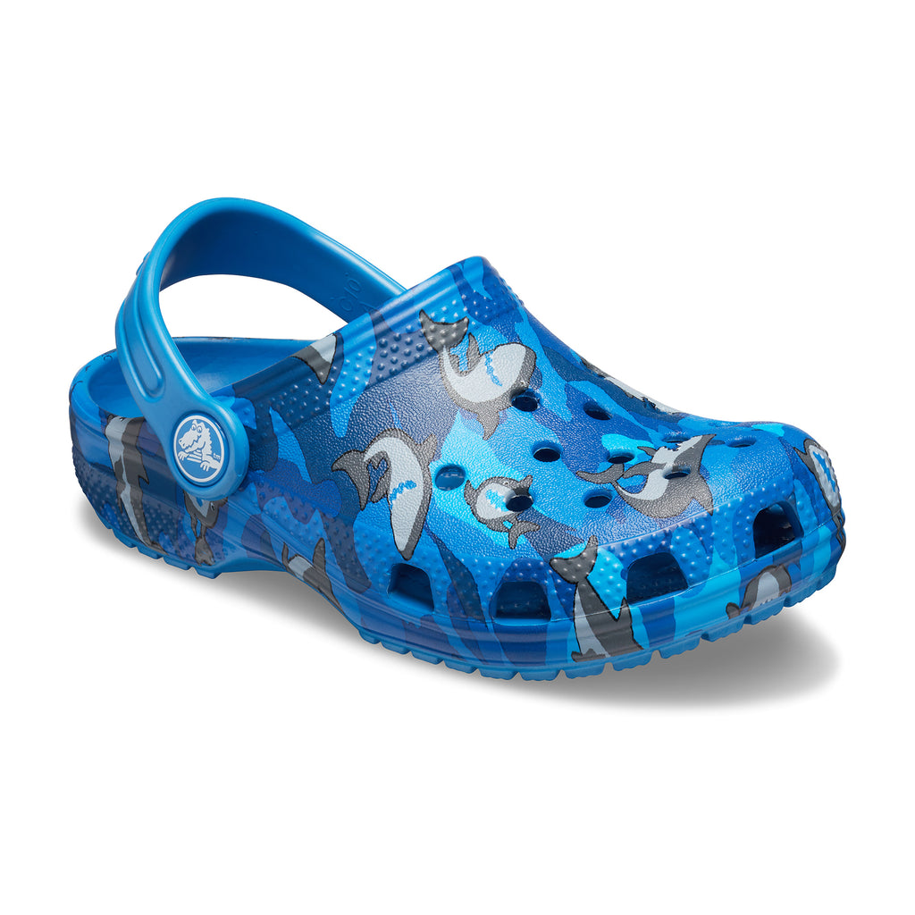 Crocs Boy's Shark PS Clog