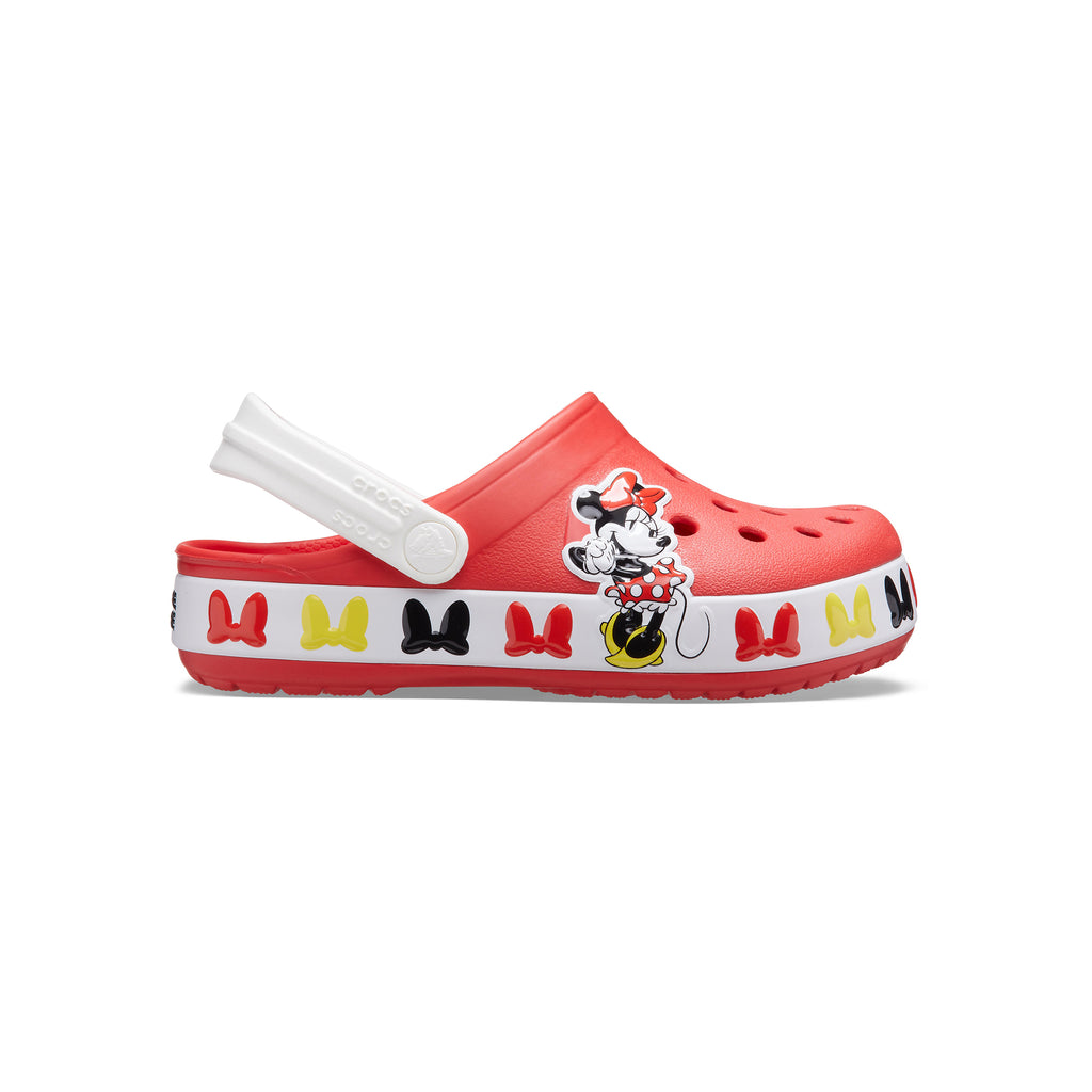 Crocs Kids' Girls Funlab Disney Minnie Mouse Band Clog
